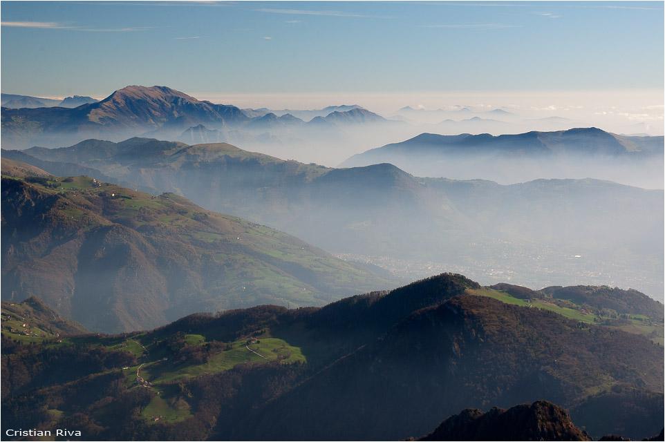 Escursione sul monte Alben