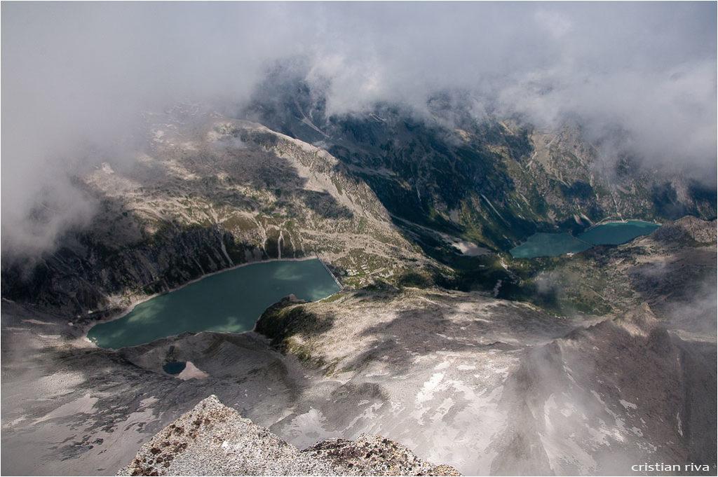 Monte Adamello via Terzulli: panorama dalla vetta