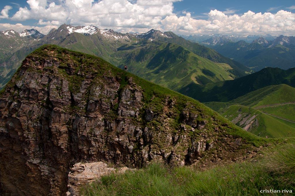 Val Sedornia: Calvera - Vigna Soliva - Pizzo Corna: il Pizzo della Corna
