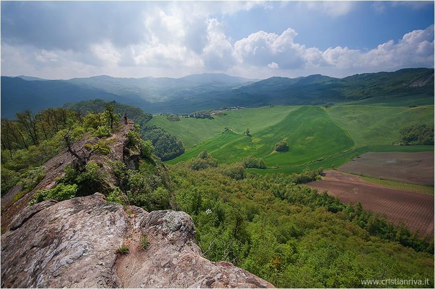 Val Tidone e la Rocca d'Olgisio: le colline piacentine