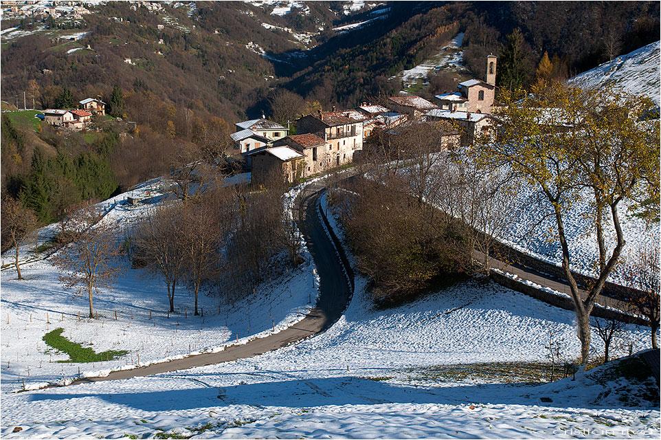 Escursione sul monte Molinasco: il borgo di Alino