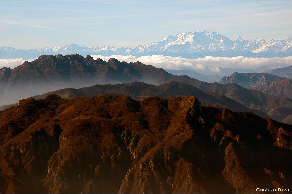 Escursione sul monte Alben: il monte Rosa