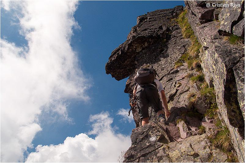 Monte Pradella: tratto attrezzato