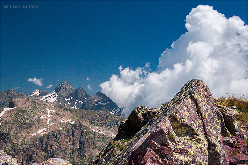 Monte Pradella: panorama sui Diavoli