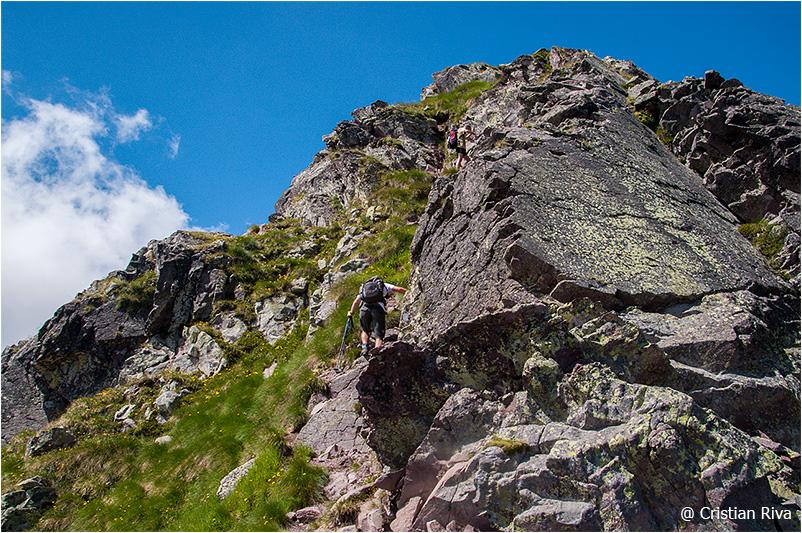 Monte Pradella: l'ultimo tratto prima della vetta
