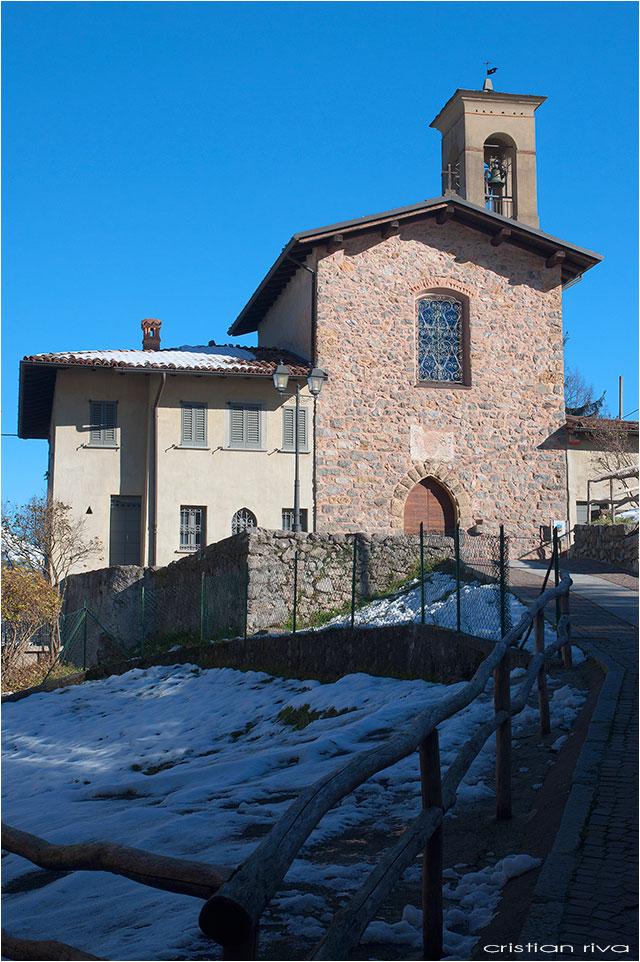 Escursione sul monte Molinasco: la chiesa di San Bernardino