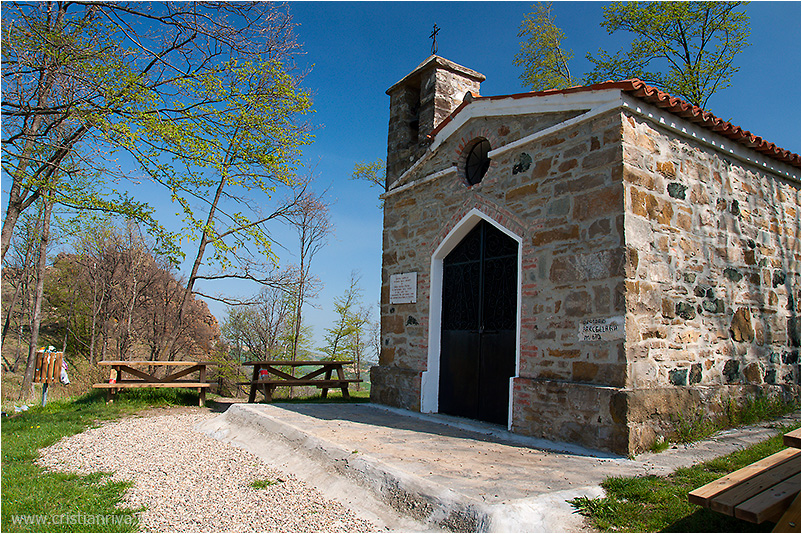 Pietra Parcellara e Pietra Perduca: Oratorio di Parcellara