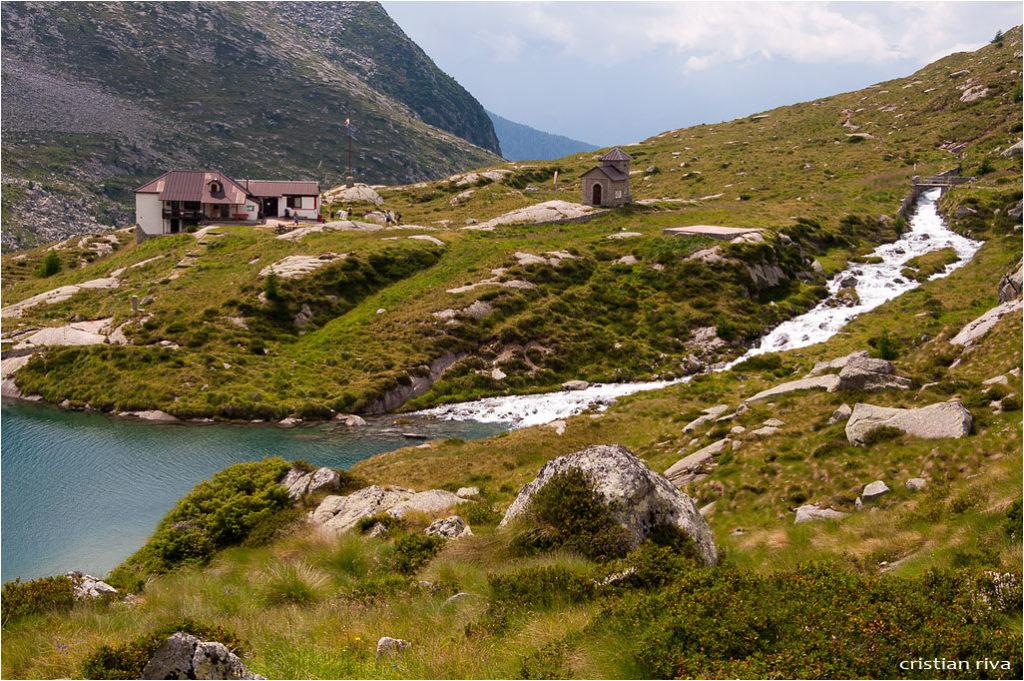 Monte Adamello via Terzulli: il rifugio Gnutti