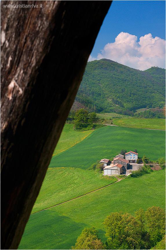 Val Tidone e la Rocca d'Olgisio: colline piacentine