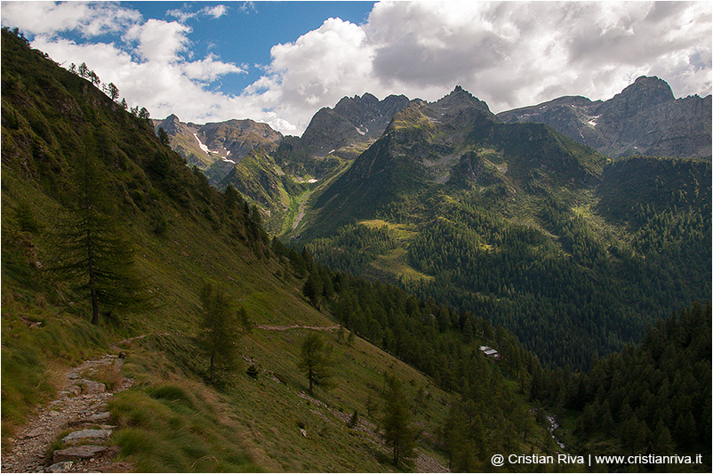 Monte Masoni: panorama orobico