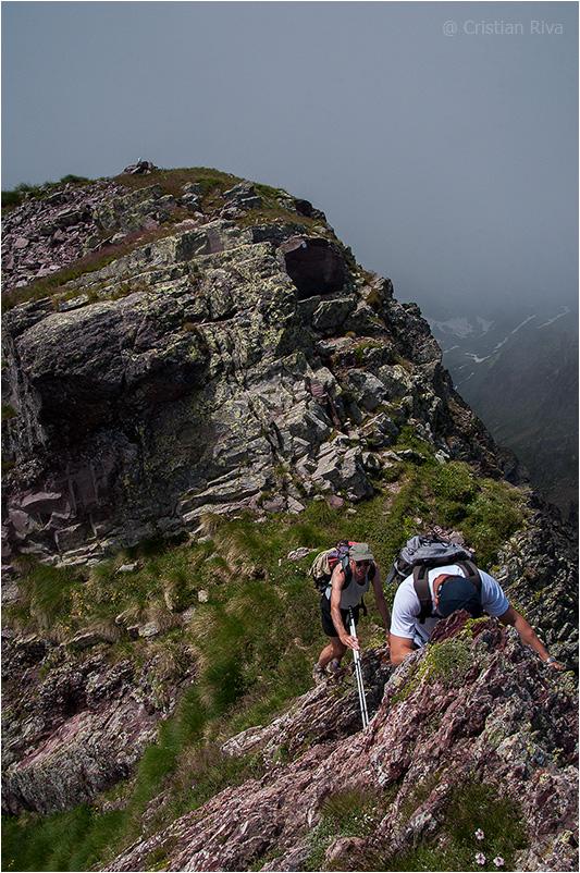 Monte Pradella: si scende verso la Valsanguigno
