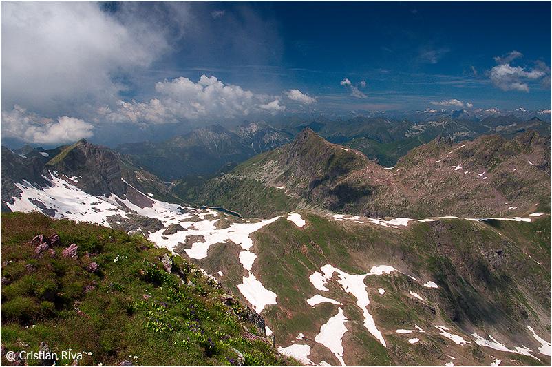 Monte Pradella: panorama orobico