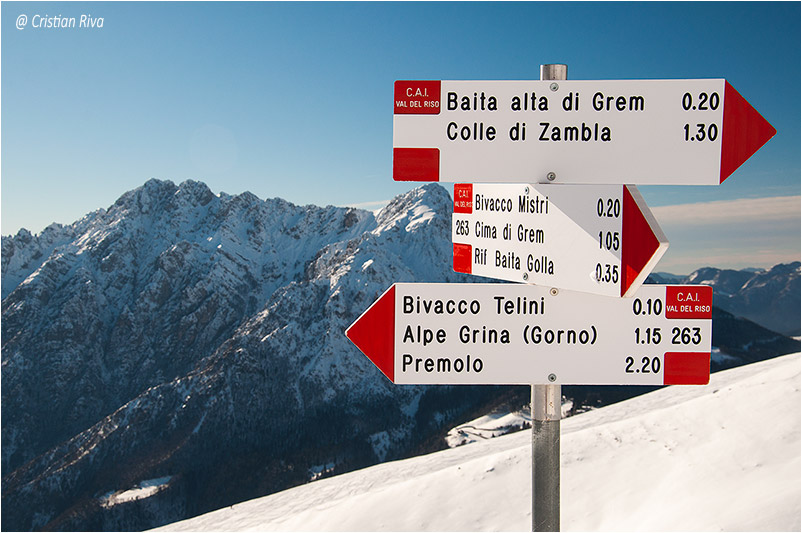 Monte Grem e Monte Golla: indicazioni