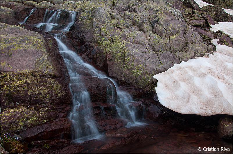 Monte Pradella: cascatella
