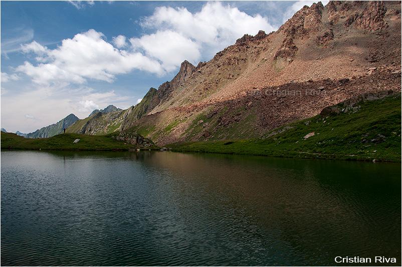 Pizzo Bello: lago Scermendone