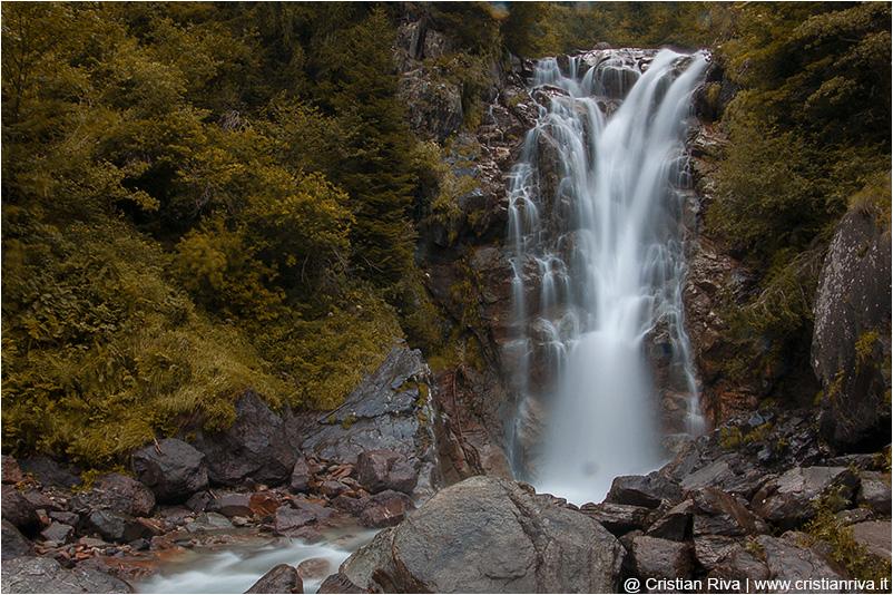 Traversata Tagliaferri: la cascata del Vò