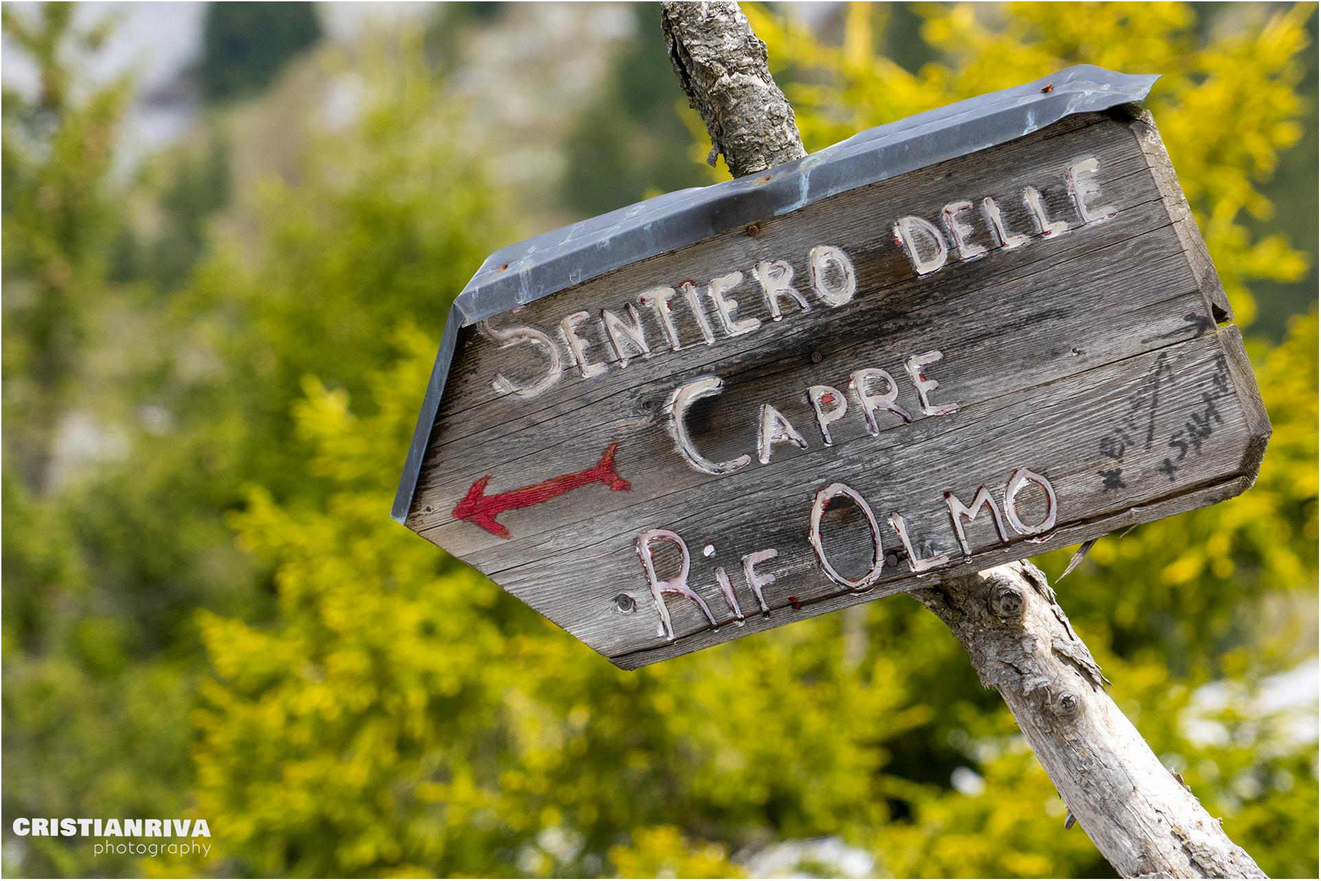 Pizzo Corzene dal Sentiero delle Capre