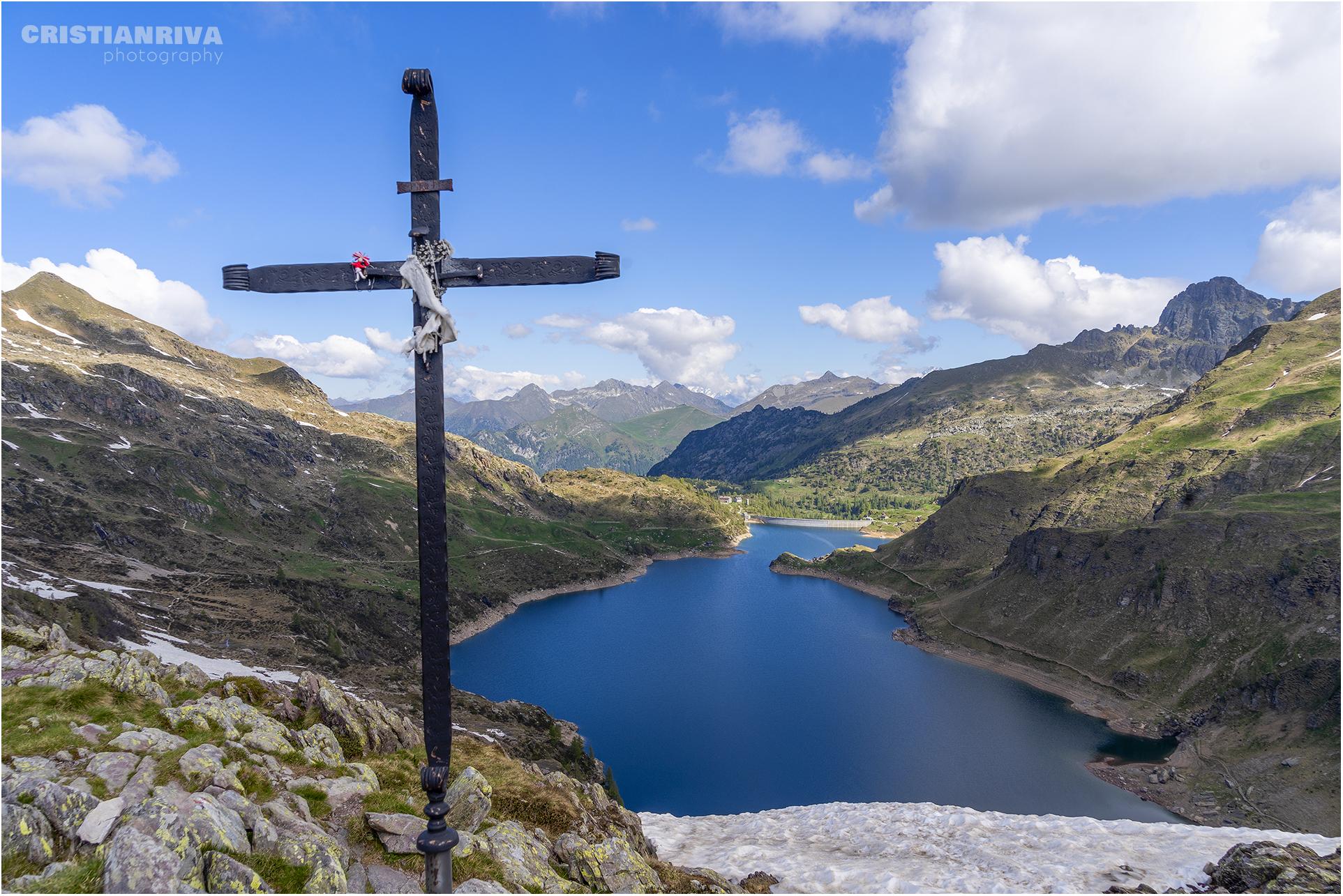Cima Giovanni Paolo II e monte Galline