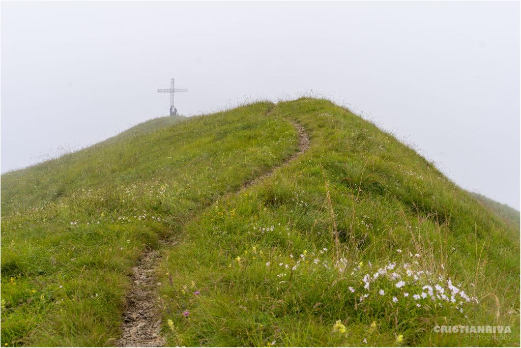 Monte Ario: la vetta
