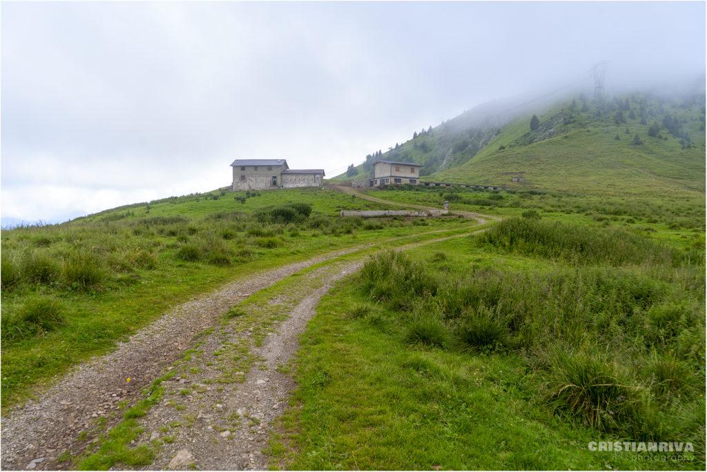 Monte Ario: malga pian del Bene