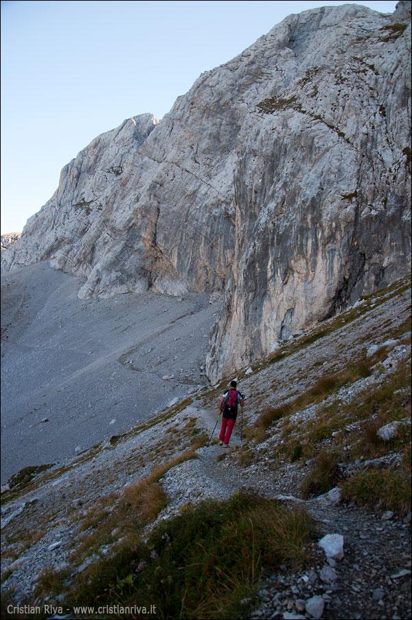 Pizzo Arera - Canalino nord