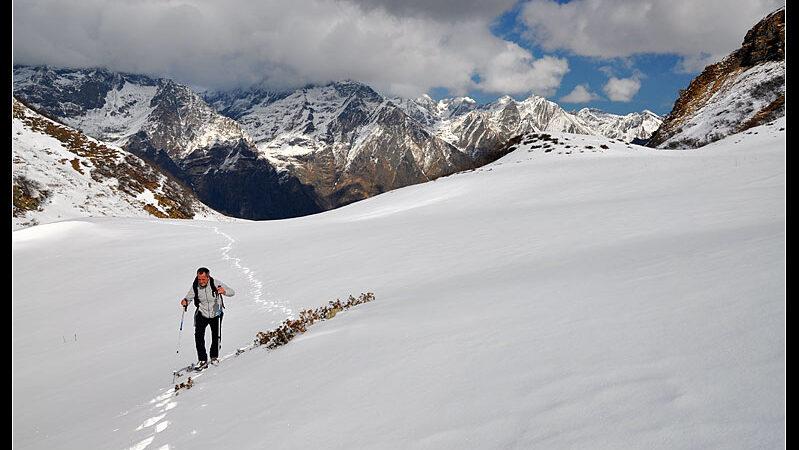 Invernale sul monte Barbarossa