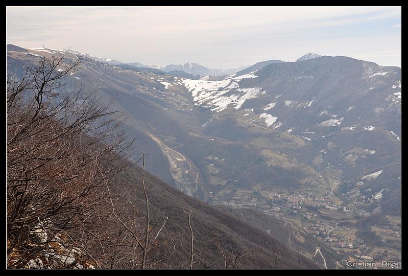 Monte Pranzà dalla Chiesta della Madonna del Mirabile