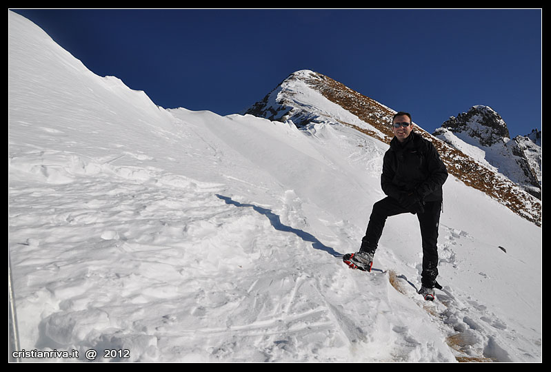 Ciaspolata sul Monte Colombe'