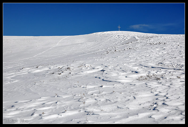 Ciaspolata sul monte Linzone