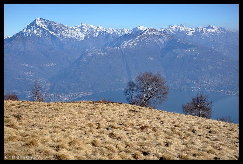 Ciaspolata sul monte Menaggio