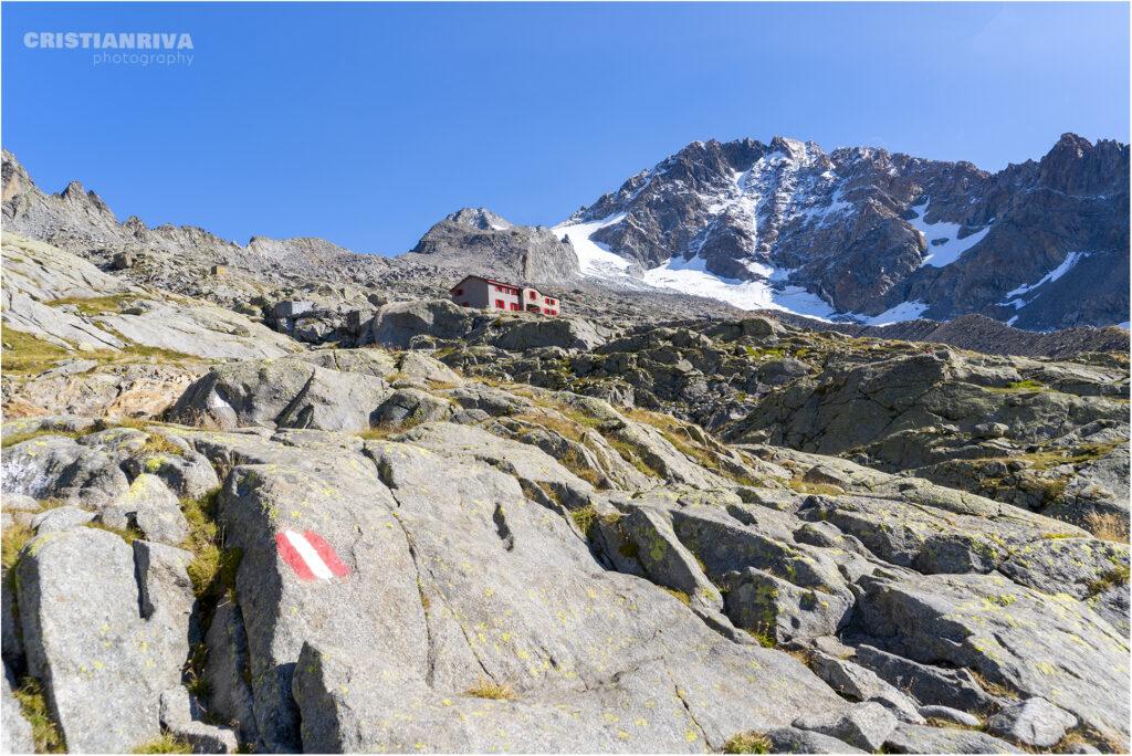 La valle di Pedra Rossa e il rifugio Ponti