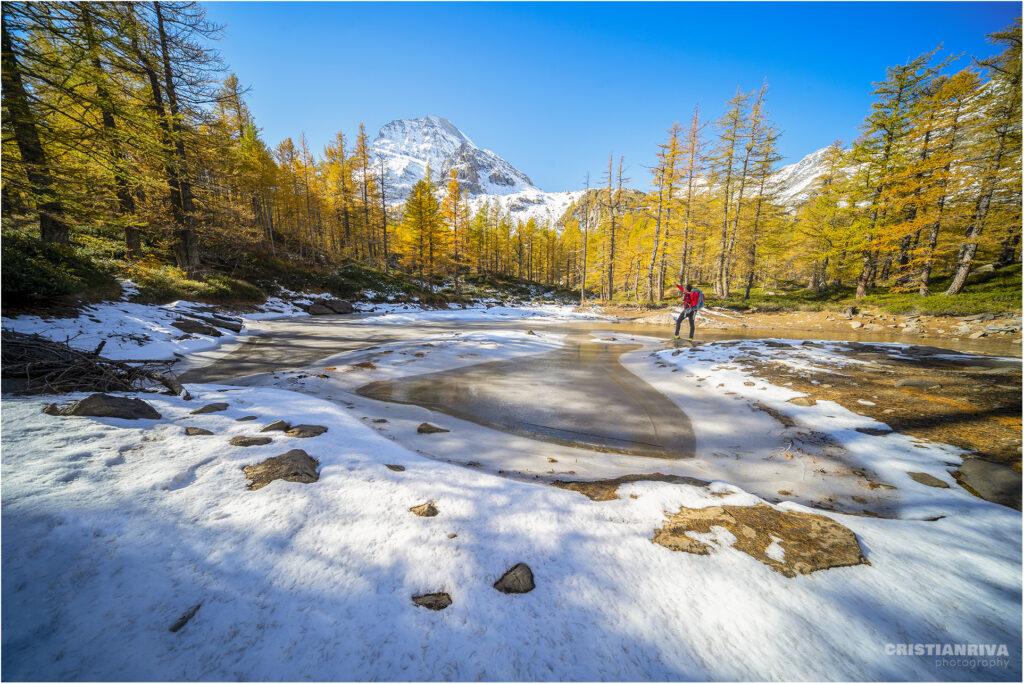 Alpe Veglia: laghetto delle Fate