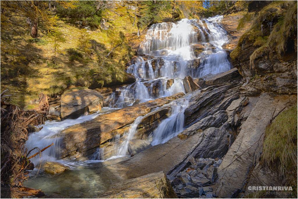 Alpe Veglia: cascata torrente Frua