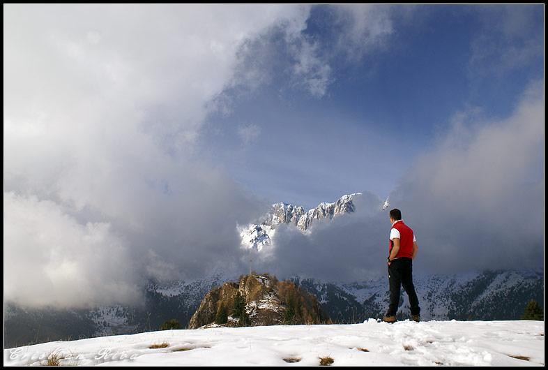 Ciaspolata sul Monte Scanapa'